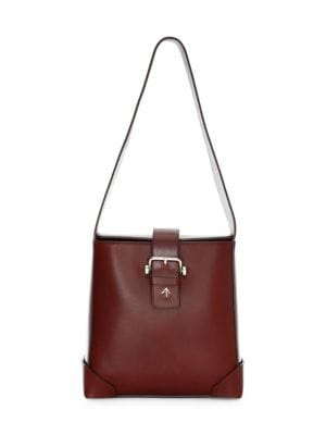 Manu Atelier Trapeze Leather Box Bag