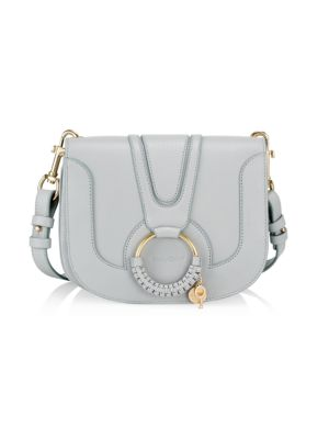 Hana Leather Saddle Bag by See By Chloé