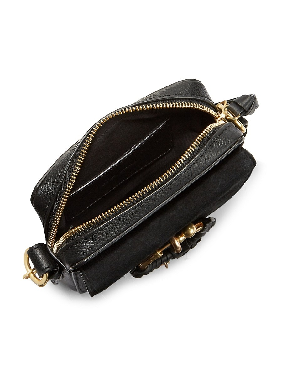 SEE BY CHLOÉ Leathers WOMEN'S MINI JOAN SUEDE & LEATHER CROSSBODY BAG