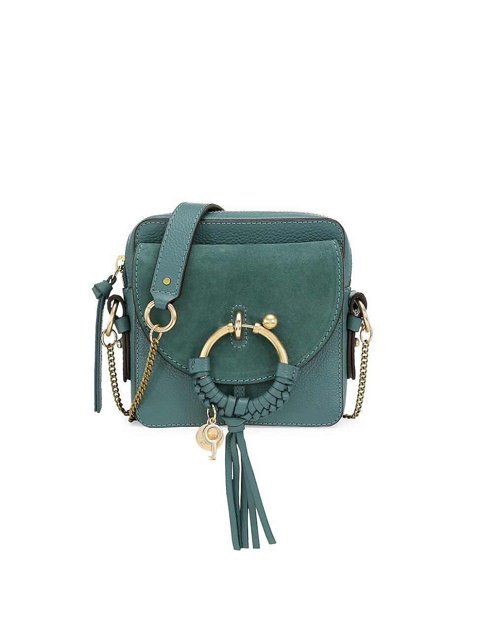 See By Chloé WOMEN'S MINI JOAN SUEDE & LEATHER CROSSBODY BAG