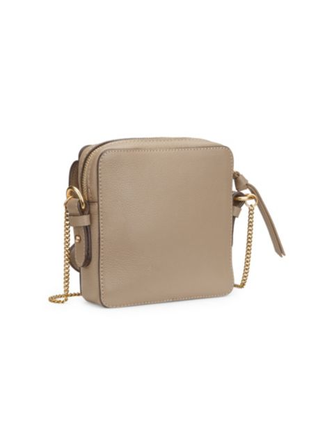 See by Chloé Mini Joan Suede & Leather Crossbody Bag   SaksFifthAvenue