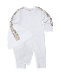 burberry 0-3 months white