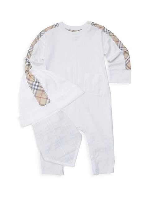 Baby Boys Colby Hat Bib  OnePiece Set