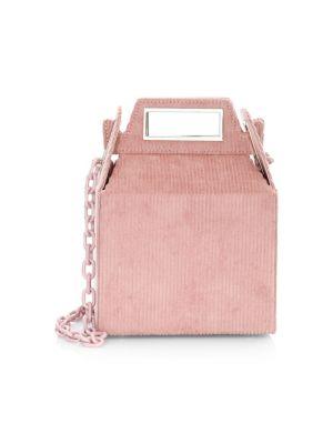 POP & SUKI Corduroy Takeout Bag in Pink