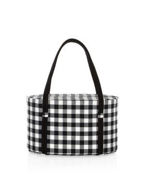 POP & SUKI Lolita Gingham Bag in Black