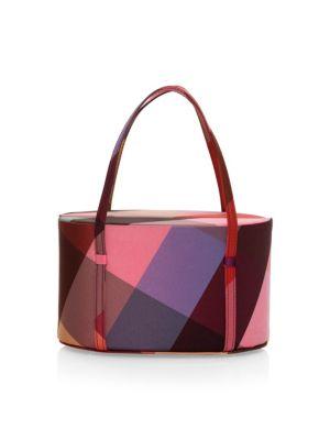 POP & SUKI Lolita Multi Square Taffeta Bag