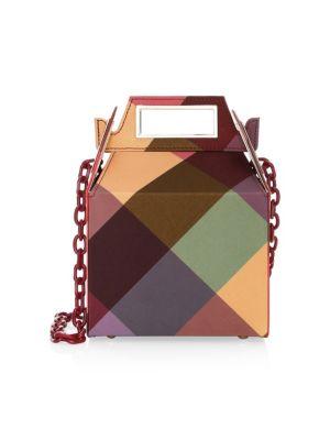 POP & SUKI Taffeta Takeout Bag in Multi