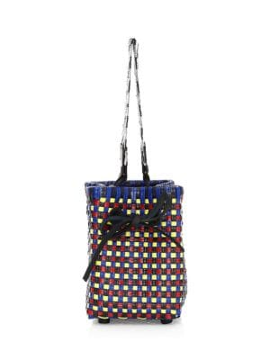 TRUSS Bead Strap Party Bag in Multi