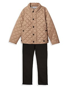 c56341044c0 Burberry. Little Girl s   Girl s Diamond Quilted Jacket