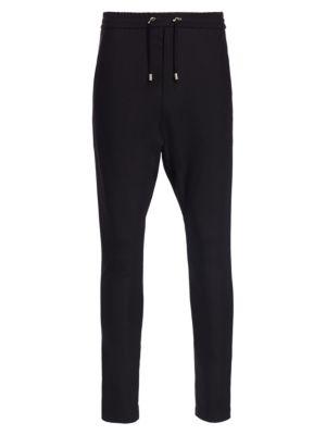 BALMAIN Slim Wool Sweat Pants