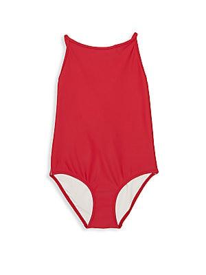 2beaddfa5204d Burberry - Little Girl s  amp  Girl s One-Piece Sandine Swimsuit