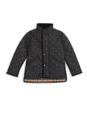Burberry Little Kid S Kid S Quilted Jacket