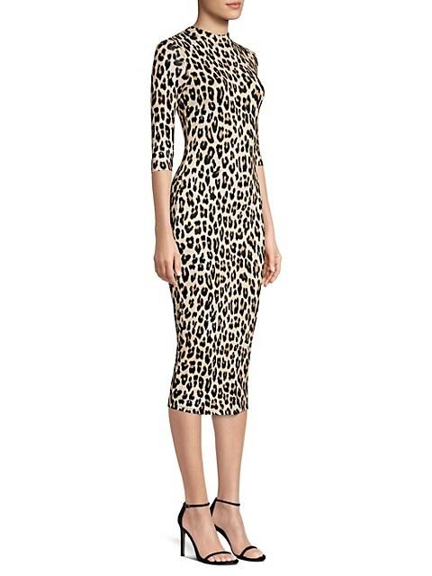 Delora Leopard Bodycon Dress