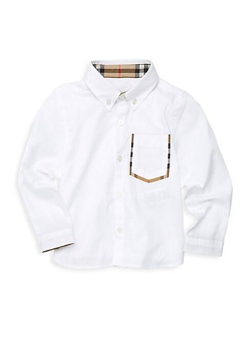 Little  Boys Long Sleeve Harry Shirt