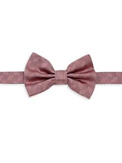 f2de9b652922 Product image. QUICK VIEW. Emporio Armani. Neat Chevron Silk Bow Tie