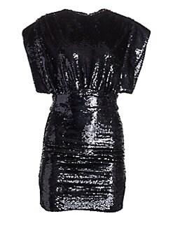 a4e4b03e13f IRO. Miracle Sequin Mini Dress