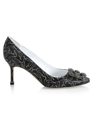 Hangisi 70 Love Leather Pumps by Manolo Blahnik