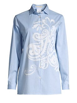 7afa8712caf57b Women s Apparel. Etro - Paisley Stripe Shirt