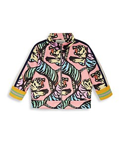 7d5503c64b9 Gucci. Baby Girl s Allover Print Jacket