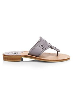 d578a258ff2ca7 Jack Rogers. Rondelles Whiplace Leather Sandals