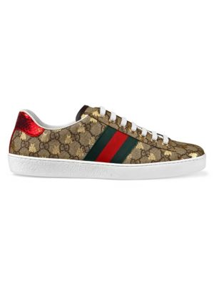5a1377390 Gucci - Ace GG Supreme Bees Sneaker - saks.com