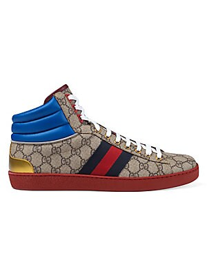b88eefcb3 Gucci - Ace GG High-Top Sneaker - saks.com