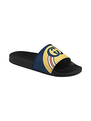 5be7516d569 Gucci - Pursuit GG Logo Slides