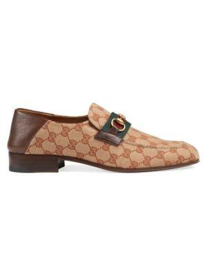 3c67ab7a390 Gucci - Jordaan Leather Loafer - saks.com