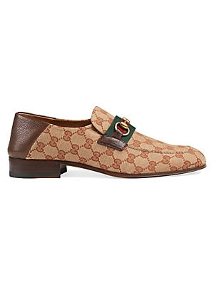 279eeac254e Gucci - Ravello Leather Penny Loafers - saks.com