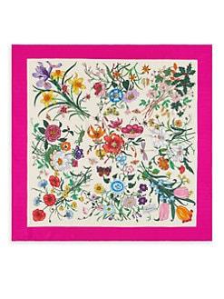 Black Red Squares Print Small Fine Silk Square Scarf Schals & Tücher