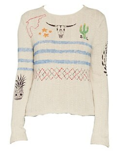 1e2213d578f8 Saint Laurent. Arizona Print Sweater