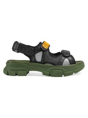 593cf74032b Gucci - Pursuit 72 Rubber Slide Sandal - saks.com