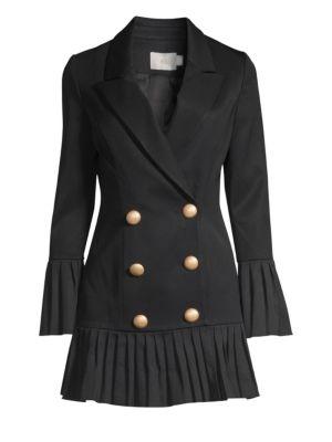 MISHA COLLECTION Jordie Blazer Dress in Black