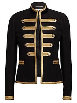 c8cf4cd315 Product image. QUICK VIEW. Saint Laurent. Moleskine Officers Jacket