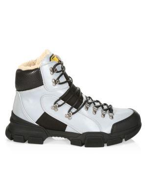 3d0ec8fff Gucci - Gucci Stripe New Ace High-Top Sneaker - saks.com