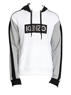 f6209f078 Signature Colorblock Hoodie WHITE. QUICK VIEW. Product image