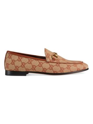 New Jordaan Logo Loafers by Gucci