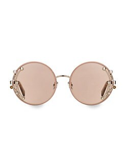 78af5e7cd00 Jimmy Choo - 59MM Gema Round Gemstone Sunglasses