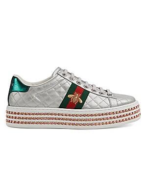 c5c0715c7 Gucci - GG Blooms Supreme Slide Sandals - saks.com