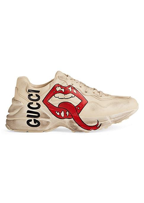 Gucci Rhyton Gucci Mouth Leather