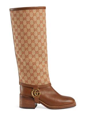 946a1235ef5 Gucci - Original GG Canvas Over-The-Knee Boots - saks.com