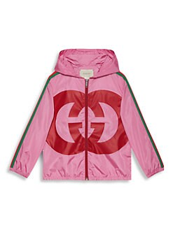 f093f39f2796 QUICK VIEW. Gucci. Little Girl s   Girl s Light Parachute Zip Jacket