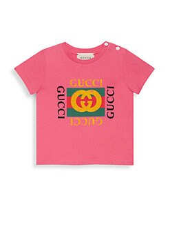 6682fcdb Baby Girl's Logo Print Graphic Tee BURGUNDY. QUICK VIEW. Product image