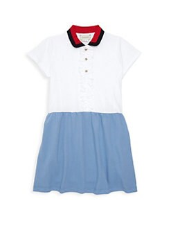 21ca8af468e QUICK VIEW. Gucci. Little Girl s   Girl s Piquet ...