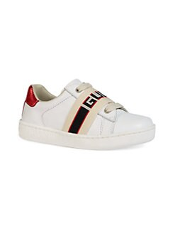 1c0949e8070 Product image. QUICK VIEW. Gucci. Baby s New Ace Logo Strap Leather Sneakers