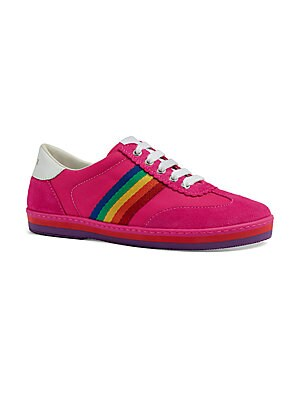 7b92dfc98c3264 Gucci - Baby   Girl s JBG Rainbow Low-Top Sneakers