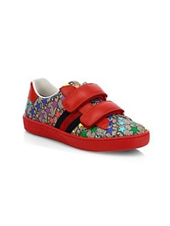 2ba24711902 QUICK VIEW. Gucci. Kid s New Ace Sneakers.  345.00 · Girl s Monogram  Sandals BLUE
