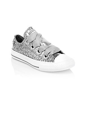933e9da0f4cdbe Converse - Little Girl s Chuck Taylor All Star Glitter Sneakers