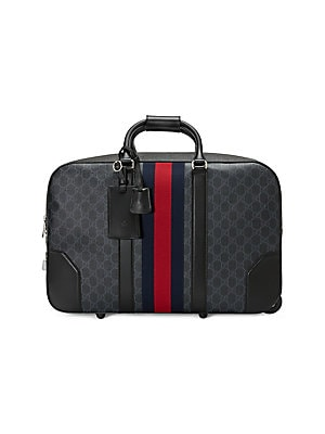e7afe2d826532f Gucci - Soft GG Supreme Carry-On Duffle with Wheels - saks.com