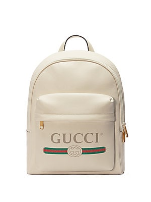 710493bc0243 Gucci - Gucci Print Leather Backpack